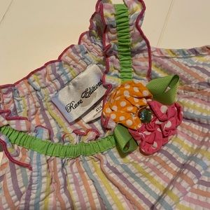 Girls colorful 4T sleeveless dress